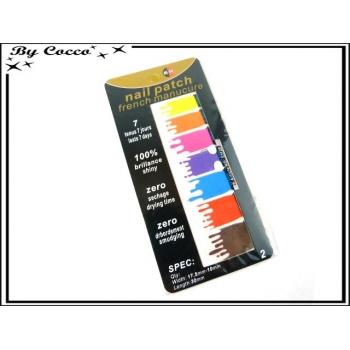 Patch ongles - Tâches de peinture - Multicolor