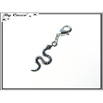 Charm - Serpent - Argent