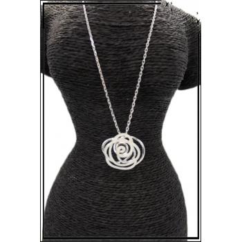 Collier - Rose - Nacré