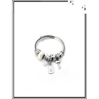 Bracelets - Charms - Divers - Blanc