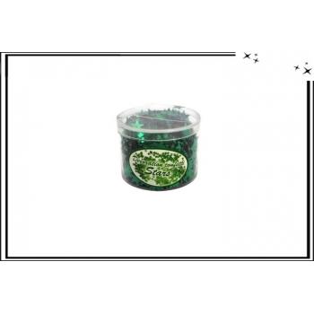 Etoiles - Confetti - Vert sapin