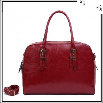 Grand sac à main - Haut de gamme - Inès Delaure - Marsala