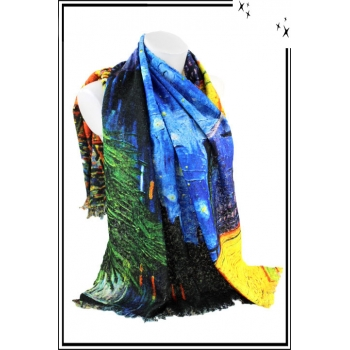 Foulard - Inspiration Van Gogh
