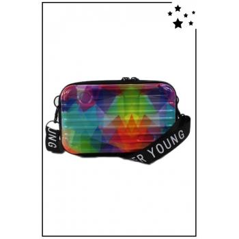 Petit sac bandoulière - Mini valise rigide - Multi 2
