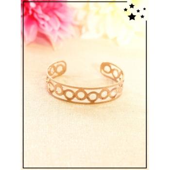 Bracelet - Petit rond - Cuivré