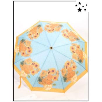 Parapluie pliable -  Van Gogh - Les Tournesols - Jaune