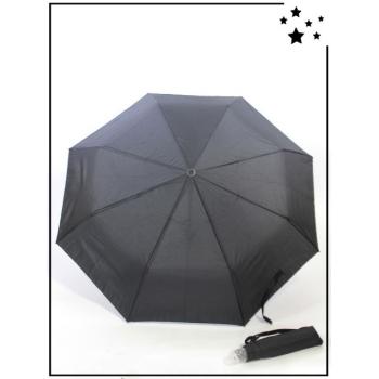 Parapluie pliable - Uni - Noir
