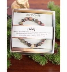 Bracelet vertus - Pierres naturelles - Rhodonite