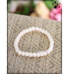 Bracelet - Perles - Médaillon - Poudré